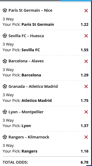 Saturday'S FREE  MULTIBET  OF THE DAY